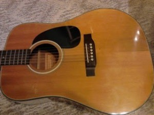 Tetomas guitar body top front