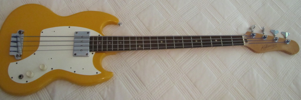 Kalamazoo Bass Guitar Sixties