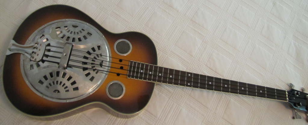 regal resonator bass guitar