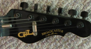 GL Broadcaster Headstock